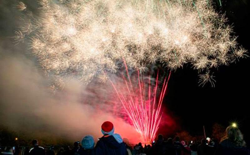 Wellesley fireworks